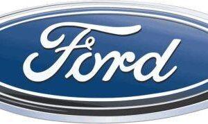 2007 2012 Ford Escape Lift Gate Blue Oval Emblem - FordPartsOne