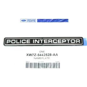 Police Interceptor Emblem - FordPartsOne