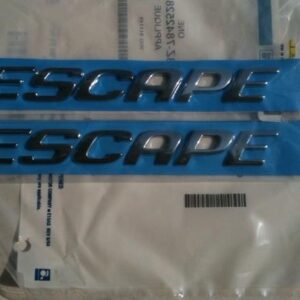 2001-2007 Ford Escape Door Emblem Set - FordPartsOne